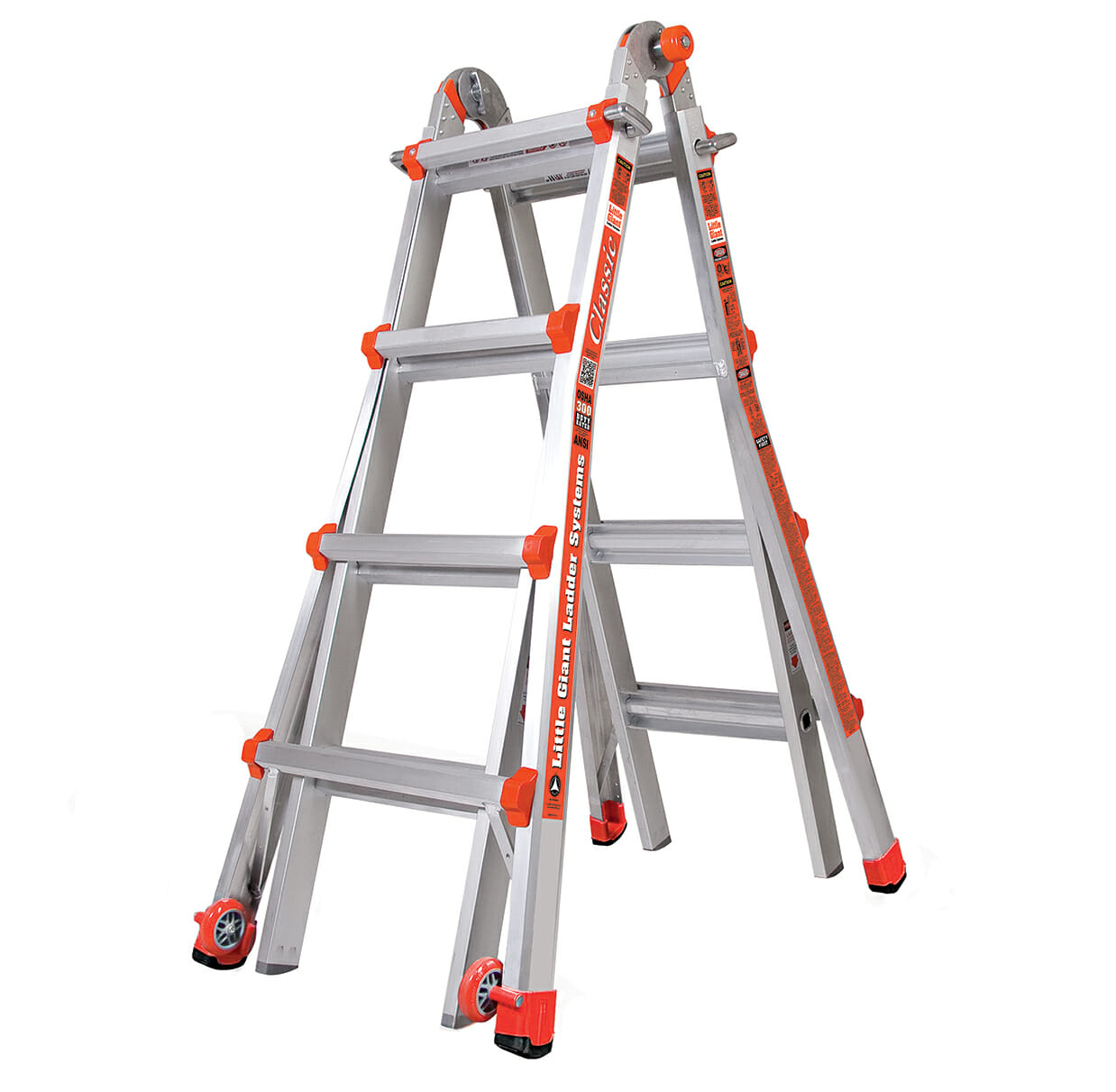 Classic Extension Ladder | Telescopic Ladder - Little Giant Ladders