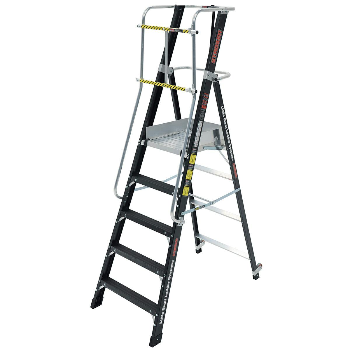 Stadium Ladder Ladder With Platform Little Giant Ladders